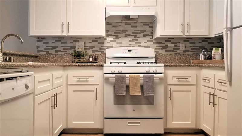 Durfee Terrace Apartments: Renovated Kitchen