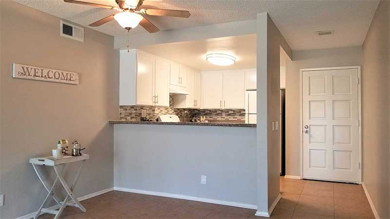 Durfee Terrace Apartments: Open-Concept Kitchen