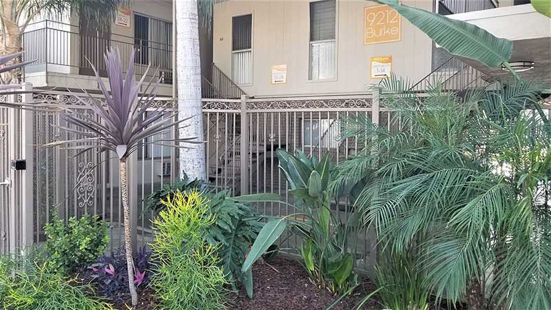 9212 Burke Street Apartments: Beautiful Landscaping