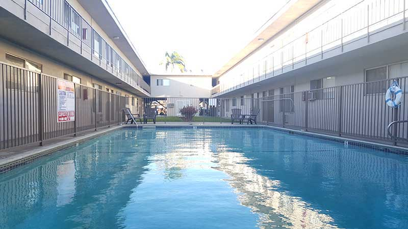 9212 Burke Street Apartments: Relaxing Pool